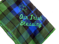 Irish Bundles Blackwatch Fleece Baby Blanket