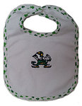 Irish Bundles Notre Dame Fighting Leprechaun Bib