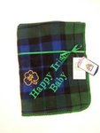 Notre Dame Happy Irish Baby Blanket